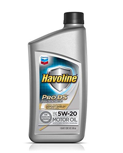 - Havoline (223721482-6PK) 5W-20 Synthetic Motor Oil - 1 qt. (Pack of 6)