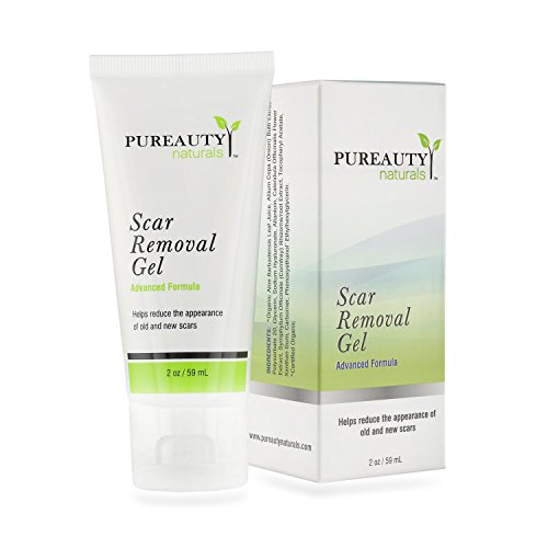 Scar Removal Gel – Advanced Scar Treatment (Double Sized) Help Reduce the Appearance of Old and New Scars – Made in USA With Natural Ingredients – Help Make Your Scars Go Away!