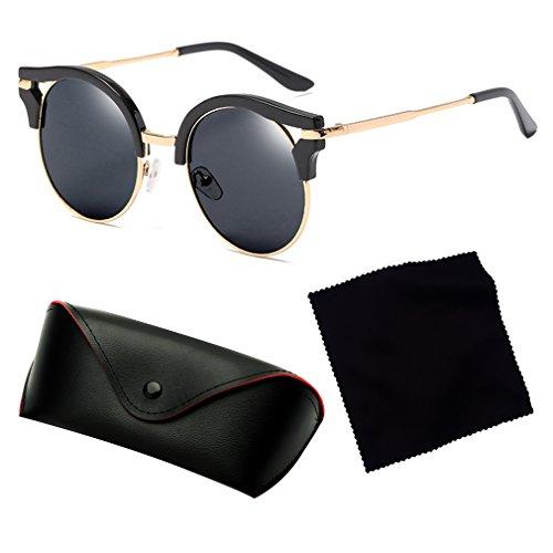 400 Vendimia Gafas De Protección Vidrios Multi Mujeres Tienden Retros Color De De Sol Clásicos C7 Nuevas De Moda Señoras Las Ultravioleta La La RattAxqwZ