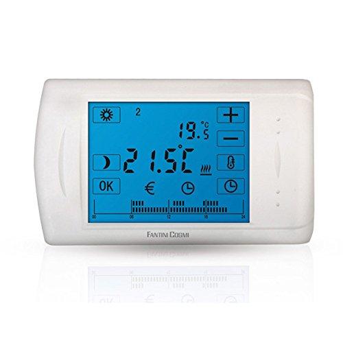 150 opinioni per C804 Cronotermostato Elettronico Touch Screen A Batterie Fantini Cosmi