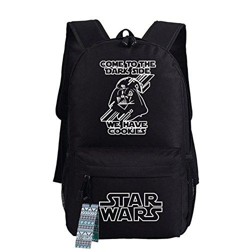 Star Wars Anakin Cosplay Casual Bag Zaino Sacchetto Di Scuola 17 Scelte Tipo 15