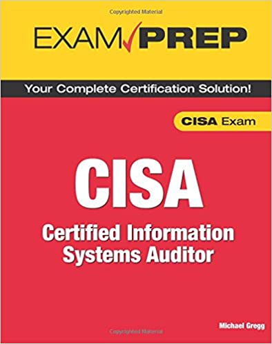 Free pdf cisa: certified information systems auditor study guide boo….