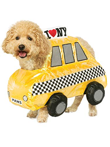 Rubie's NYC Taxi Cab Pet Costume, Large -