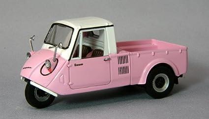 Amazon Com Ebrro 1 43 Mazda K360 1962 Pink White Japan Import