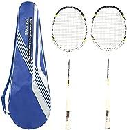 Badminton Racket Professional High Tension String Badminton Racquet Aluminum Alloy Training Adults Badminton R