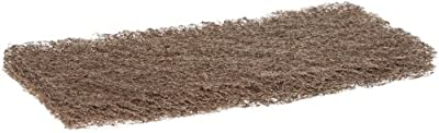 """Premiere Pads PAD 403 Heavy Duty Pad, 10"""" Length by 4"""" Width, Brown (Case of 20)"""