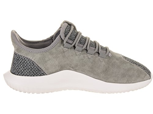 Para white Adidas Shadow Three Talla Mujeres amp; grey Bajos Tubular Grey Medios Cordon Zapatos Correr Three rq8frZ