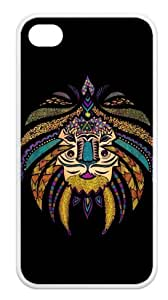 Treasure Design Ethnic Tribal TPU Case Skin for Apple iphone 4/4s Case Cover New Style