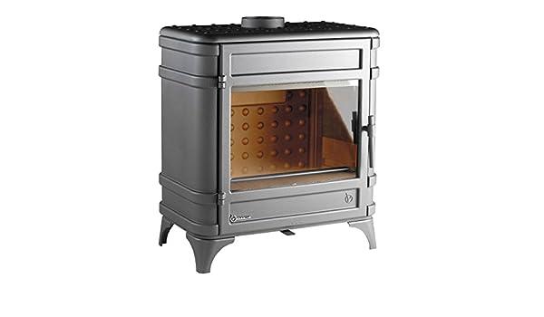 Invicta 6170 - 44 - Invicta Siam 6170 - 44 - Estufa para madera hierro fundido - Potencia 12 kW - Color Gris Antracita: Amazon.es: Bricolaje y herramientas