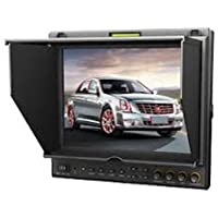 Lilliput 9.7 969A/P Dual HDMI input BNC ypbpr and composite LED Field Monitor with Advanced Functions for Full HD Camcorder F970 + LP-E6 Battery plate with Metal suitcase by LILLIPUT OFFICIAL SELLER :VIVITEQ