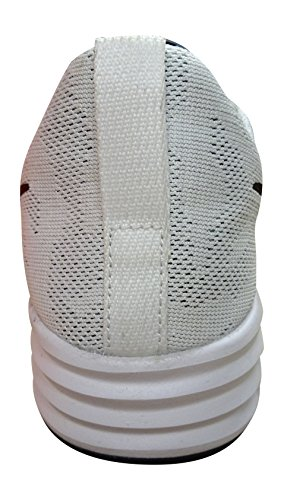 Nike Herren Sb Lunar Paul Rodriguez 9 Skaterschuhe Blanco (Blanco (white/black-wolf grey-pure platinum))