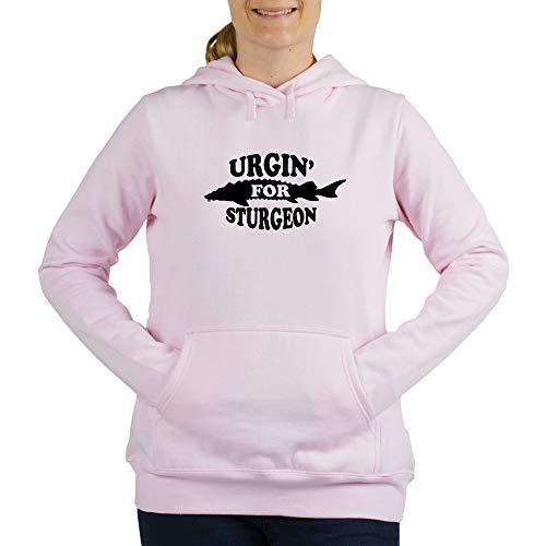 (CafePress Urgin for Sturgeon White Sweatshirt Women's Hooded Sweatshirt)