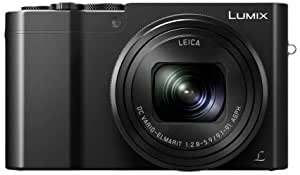 "Panasonic Lumix DMC-TZ100EG-K - Cámara digital compacta (20.1 MP, 1"" MOS 5472 x 3648 Pixeles, 9,1-91 mm) color negro"