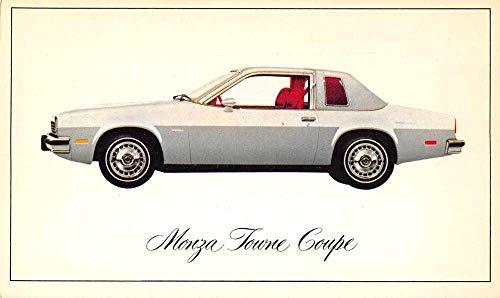 Chevrolet Monza Towne Coupe Auto Advertising Vintage Postcard JA4741723