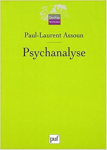 Livre gratuits Psychanalyse pdf