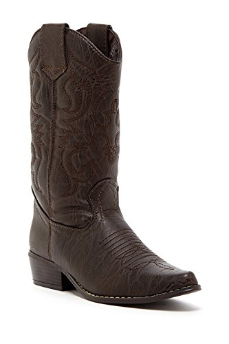 Charles Albert Women's Western Style Embroidered Cowboy Boot In Brown Size: 9 Western Style Boots