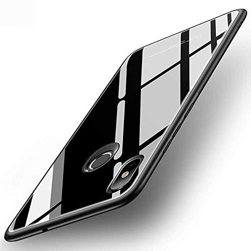 A ADEE Back Cover for Mi Redmi Y2 Plastic/Black