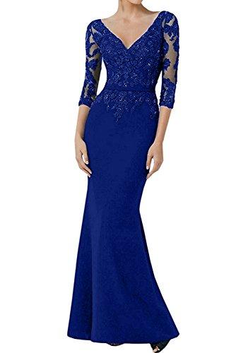 Vestido para Topkleider real mujer azul R6wqfqd