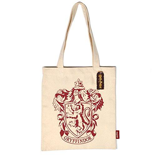 alltoshop Harry Potter Gryffindor Logo Tragetasche - Harry Potter Gryffindor Logo Tragetasche Tasche Zauberei