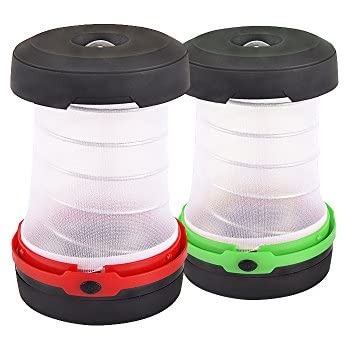 USB Rechargeable LED Camping Lantern Tent Light Lamp /& Power Bank Phone Charger