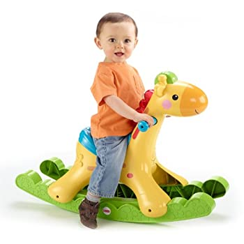 Image of Fisher-Price Rockin' Tunes Giraffe Baby