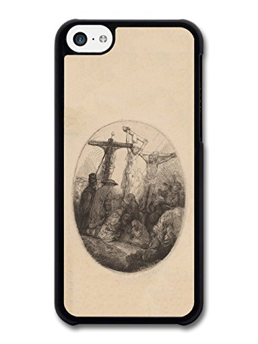 Rembrandt Van Rijn Christ Crucified Between the Two Thieves Artist Art Vintage case for iPhone 5C
