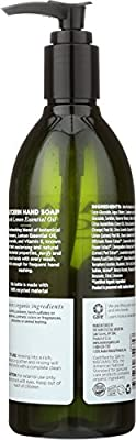 Avalon Organics Glycerin Hand Soap, Nourishing Lavender, 12 Fluid Ounce