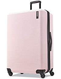 Stratum XLT Expandable Hardside Luggage with Spinner Wheels, Pink Blush