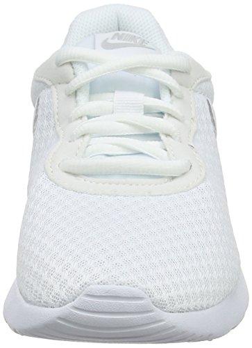 Crimson Gymnastique De Nike Tanjun total Wmns white Silver Glow metallic Chaussures 101 white Femme Blanc Lava wtwvCI