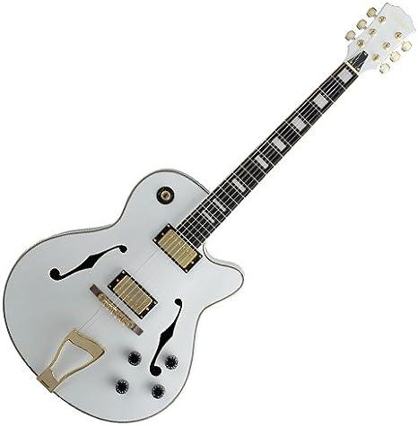 Stagg A300-WH - Guitarra eléctrica (pastillas humbucker, puente ...