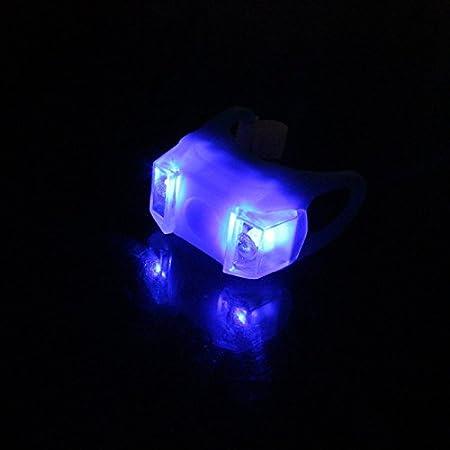 2019 Neue LED Silikon Fahrradlicht Set StVZO Zugelassen USB Fahrradbeleuchtung fahrradlichter,Sicherheit Beleuchtung Fahrradlampe Taschenlampe Licht Fahrradleuchte f/ür Fahrrad