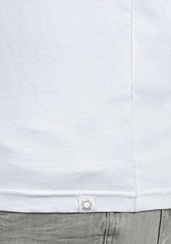 A Basic White Uomo solid Maglia 0001 Lunga Manica I5xpq
