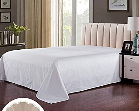 Royal Europe Textile - Sabana ENCIMERA 100% ALGODÓN Blanca, Pack 5 ud. Cama 200cm: Amazon.es: Hogar