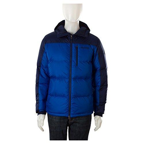 Marmot Mens Jacket Guides Down Hoody True Blue/Arctic Blu...