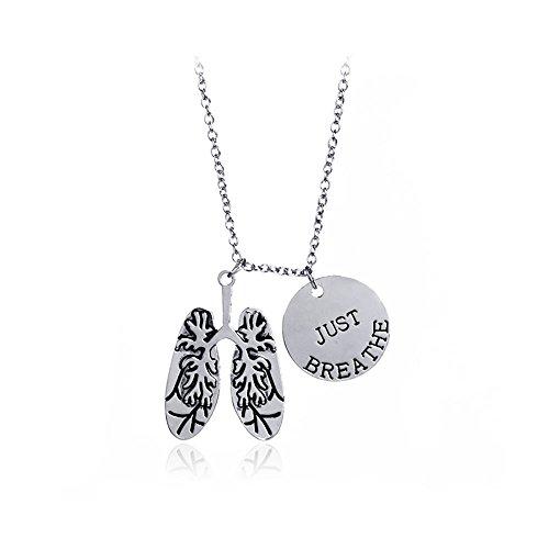 Meiligo Fashion Anatomy Necklace Anatomical product image