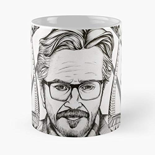 Marc Maron Wtf Podcast Stand Up Comedy Comedian - Coffee Mugs Unique Ceramic Novelty Cup For Holiday Days 11 Oz.