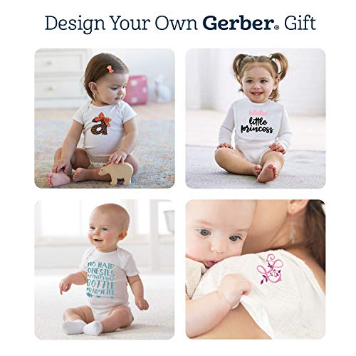 Gerber Unisex-Baby Newborn 15 Piece Onesies Bundle In Sizes, White, 0-3M/3-6M/6-9M