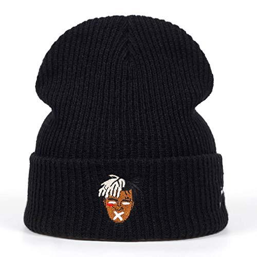 (MEIZOKEN Dreadlocks Very Casual Beanies for Men Women Fashion Knitted Winter Hat Hip-hop Skullies Cap)