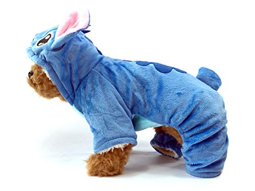 TheDogWear.com Comfy Stitch Dog Costume Sherpa Jumpsuit: