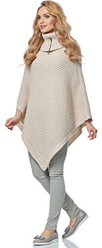 Poncho Style pour MSSE0020 Merry Femme Beige HaPqSw