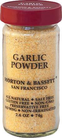 Morton & Bassett Garlic Powder 2.6 ounce (Dining Bassett)