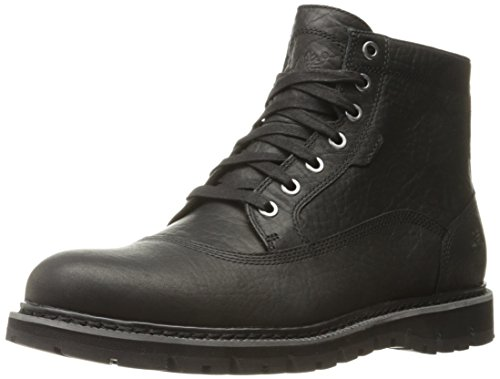 Timberland Men's Britton Hill Cap Toe Chukka WP Boot, Black Full Grain, 11.5 M US