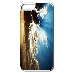 IPhone 5S Covers, Sunrays Cases For IPhone 5 - White Hard Plastic