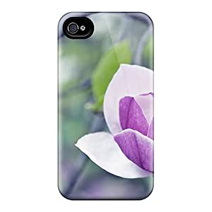 Defender Case For Iphone 4/4s, The Lovely Magnolia Pattern