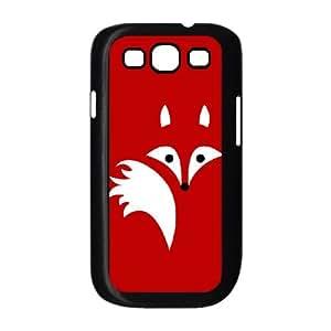Samsung Galaxy S3 9300 Phone Case Covers Black Fox Lines XRF Custom Durable Phone Case