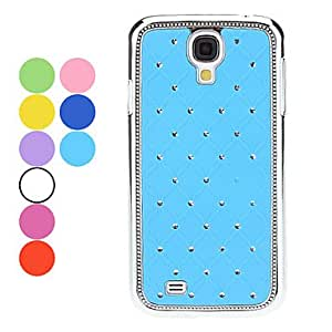 Starry Sky Pattern Hard Case with Rhinestone for Samsung Galaxy S4 I9500 (Assorted Colors) --- COLOR:Blue