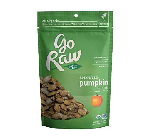 Go Raw Sprouted Pumpkin Seeds, 1 Pound Bags