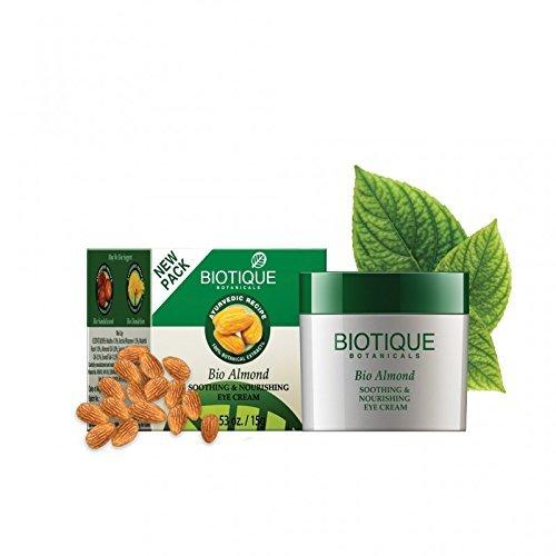 Biotique Almond Under Eye Cream For Dark Circles & Puffiness 15 g NA