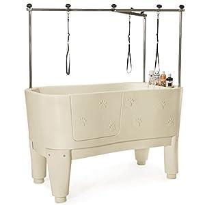 Amazon Com Master Equipment Polypro Grooming Tub Ivory