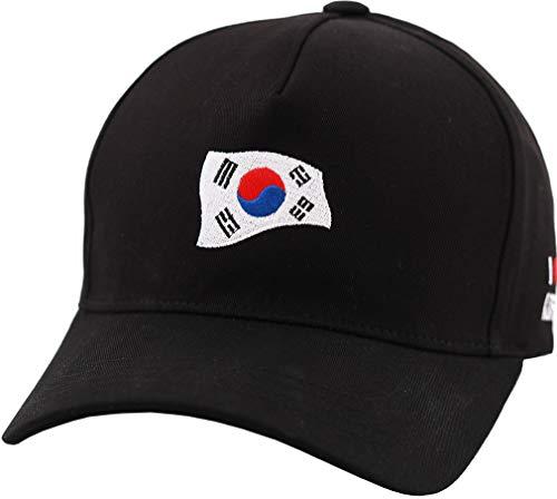 sujii BTS Korea Wave Baseball Cap Trucker Hat Outdoor Hat, Black